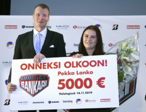 Ammattina Sankari Pekka Lanko